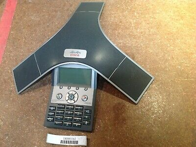 Cisco CP-7937G UC  Phone Polycom Conference Station IP VoIP PoE
