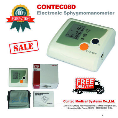 Wrist blood pressure monitor CONTEC08D CONTEC,with an adult cuff LED display