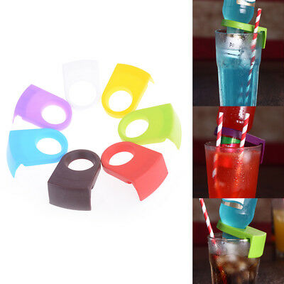 2x Beer Bottle Holder Clip Cocktail Glass Cup Goblet Clip Tool Bar Club Pip
