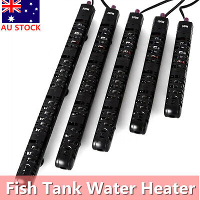 Aquarium Auto Water Thermostat Submersible Heater Fish Tank 50/100/200/300/500W