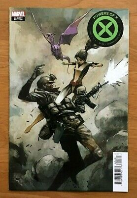 Powers of X 4 2019 Mike Huddleston 1:10 Incentive Variant Cover Marvel  NM-