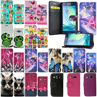 **For Samsung Galaxy A5 2017 Pu Leather Wallet Book Flip Stand Secure Phone Case