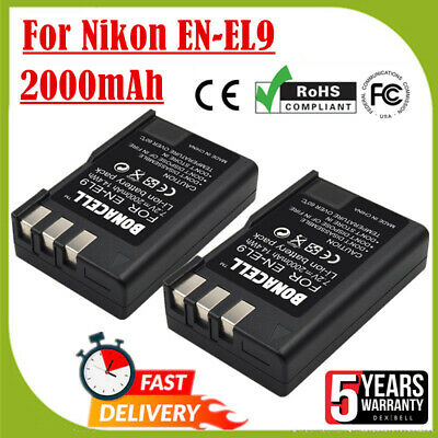 2X 1100mAh LP-E12 Battery + LCD Dual Charger For Canon M M2 M10 Rebel SL1 Camera
