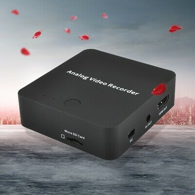 VHS To Digital Converter Video Recorder for Hi8 VCR DVR DVD Camcorder NEW
