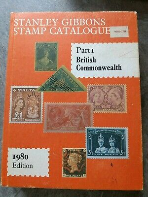 Stanley Gibbons Stamp Catalogue British Commonwealth Part I 1980 Edition