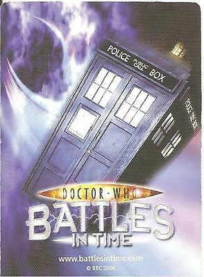 56 cards, Dr Who Battles In Time ANNIHILATOR series, Common/Rare/Super Rare