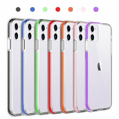 For iPhone 11 / 11 Pro Max / 11 Pro Clear Shockproof Hybrid Bumper Case Cover