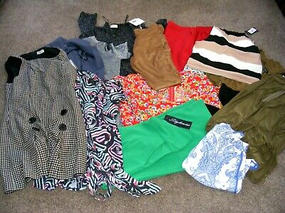 Joblot Of Various Womans Clothes 19 Items (Used Con)