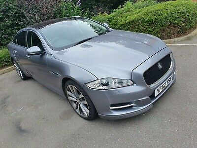 Premium Luxury Jaguar Xj 3.0L 275 Bhp Diesel Dec 62 Plate Grey 8 Speed Automatic
