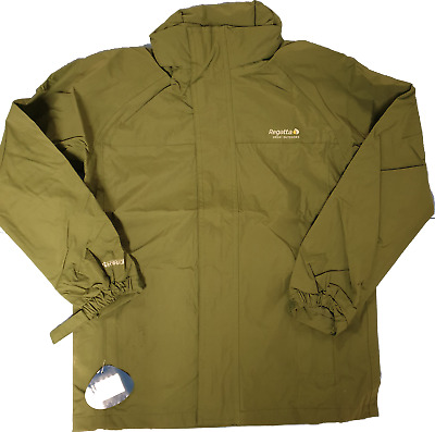 Boys Regatta Ryd Waterproof Jacket Green School Coat