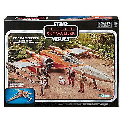 Star Wars The Vintage Collection The Rise of Skywalker Poe Dameron'S X-Wing Figh
