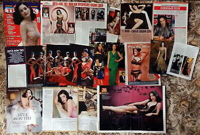 Dita von Teese magazine articles