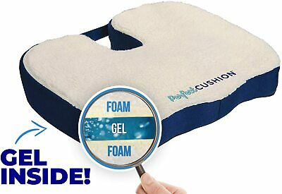 NEW Orthopedic High Thick Gel Chair Cushion Car Seat Large Firm Comfort Foam Pad