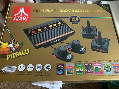 Atari Flashback 8 Gold Deluxe HD Console - Activision, Paddles
