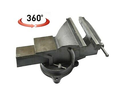 """8"""" (200mm) Engineers Vice Cast Iron Bench Vise Mechanics Anvil Clamp Holder"""