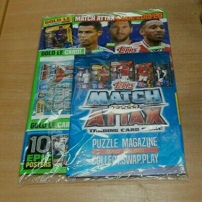 Topps Match Attax Seaons 2019/20 Collector Guide + Limited Edition Gold Suarez
