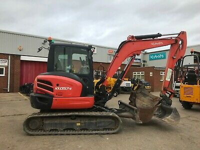 KUBOTA KX057-4 - Year: 2014  low 1737 hours mini Excavator