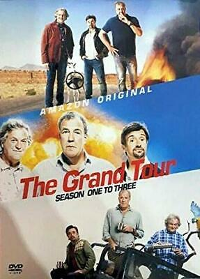 The GRAND TOUR - Seasons 1-3 Box Set  - New & Sealed (Top Gear, Clarkson)