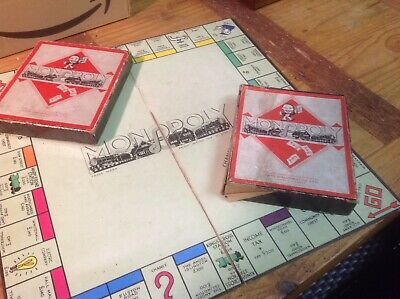 Vintage Monopoly Board Game