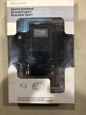 Belkin Sports Armband For Ipod Nano F8Z105tt Black