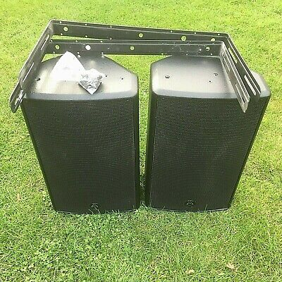 wharfedale pro S1-12X Pair Disco PA Speakers inc brackets (used)