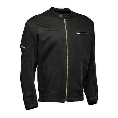 Nos Speed And Strength 880637 Rust Redemption Jacket Black Size Mens Lg