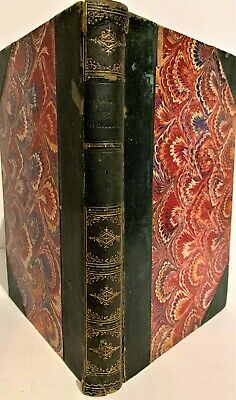 Antique 1874 ~ The Works Of Richard B.sheridan Volume Ii ~ Leather/Marbled