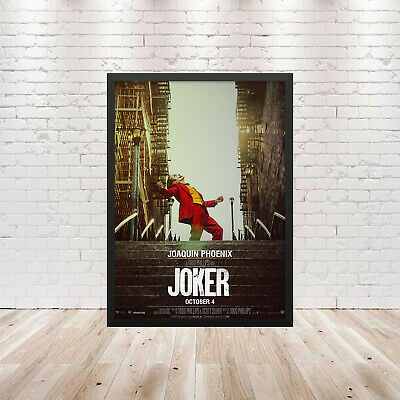Joker Movie Poster Wall Art Maxi 2019 Prints DC New Film Cinema Batman -1742