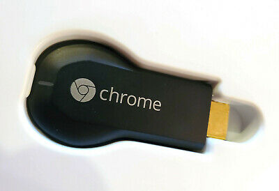 Google Chromecast Digital HDMI Media Streamer 1st Gen With Box USB Cable