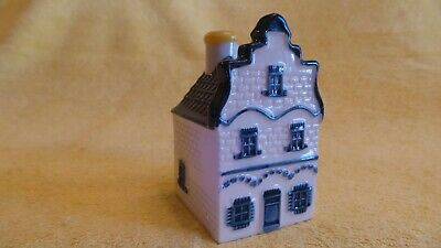 KLM Bols Amsterdam Delft Blue HOUSE #1, sealed and with liquid inside