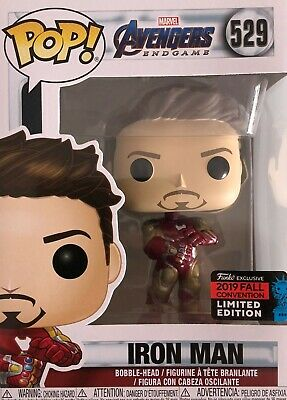 Funko Pop! Marvel: Avengers Endgame Tony Stark With Gaunlet, Fall Convention Exc