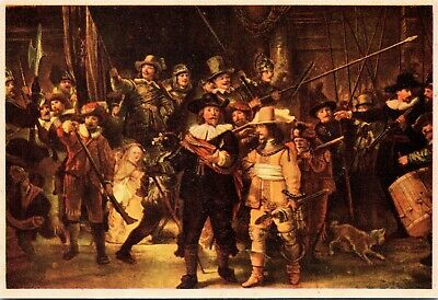 postcard The Nightwatch by Rembrandt