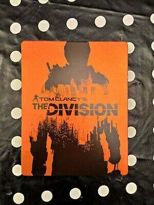 Tom Clancy's The Division Steelbook Orange Format Blu Ray - Ps3 - Ps4 - Xbox One