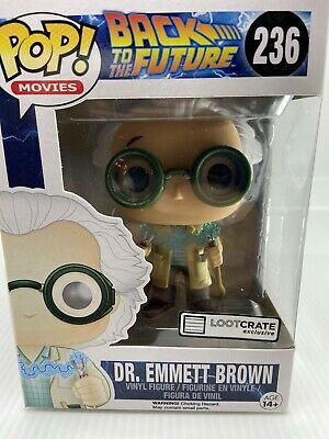 Back to the Future- Doc Brown Pop Vinyl Exclusive *New*
