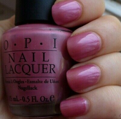OPI Nail Polish Lacquer  ~Not So Bora-Bora-Ing Pink NL S45~ Pearly Pink Shade