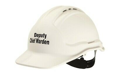 Tuffgard Force360 DEPUTY CHIEF WARDEN Hard Hat Vented White | AUTHORISED DEALER