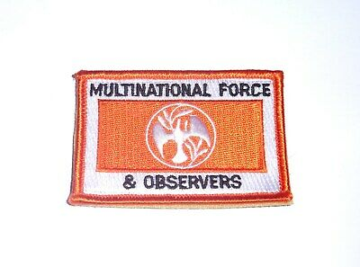 MFO or Multinational Force & Observers Shoulder patch