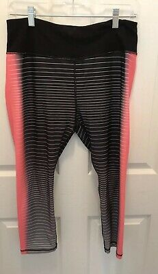 RBX Active Pants Womens Capris Size Large Running Yoga Athletic Workout