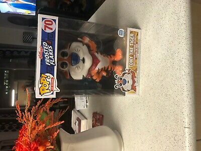 """Funko POP Shop Exclusive Frosted Flakes Tony The Tiger 10"""" IN HAND"""