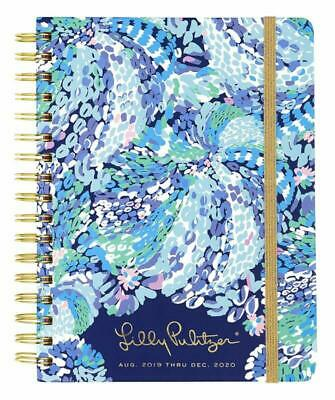 "Lilly Pulitzer Large Aug. 2019 - Dec. 2020 17 Month Hardcover Agenda, 8.88"" X 6."