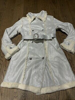 NWT Childrens Place Tcp Gray Dressy Coat Jacket Girls Size 7/8 Holidays