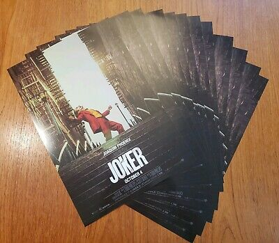 SET OF 12 JOKER POSTER STAIRS Steps Dance 11x17 Limited Movie Film Wall Art NEW