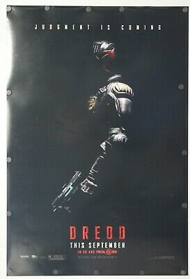 "Dredd 2012 Double Sided Original Movie Poster 27"" x 40"""