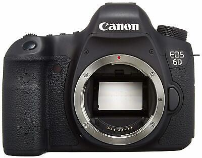 Canon EOS 6D 20.2 MP CMOS Digital SLR Camera with 3.0-Inch LCD Body Only
