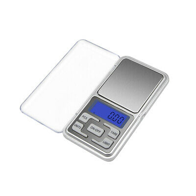 Mini LCD Electronic Pocket Digital Scales Jewellery Gold Weight Gram 0.01g 500g