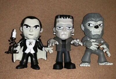 Funko Walgreens Exclusive Universal Monsters Minis Frankenstein Wolfman Dracula
