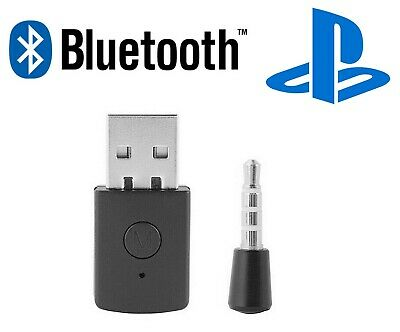 PS4 Bluetooth Wireless USB Adapter Dongle 4.0 Receiver for Headphone Microphone
