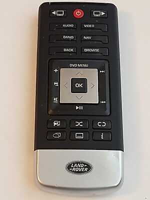 Land Rover Range Rover Rear Seat Entertainment DVD REMOTE CONTROL LR066437