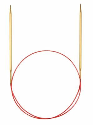 addi Lace Gold Tip Fixed Circular Knitting Needles  60cm (24in)