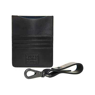 Superdry NEW Mens Leather Travel Wallet Set - Black BNWT